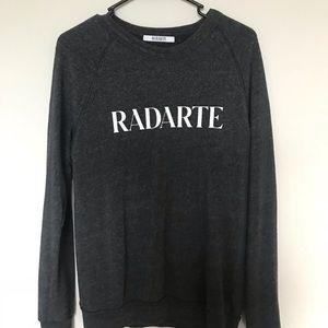 Rodarte grey pullover